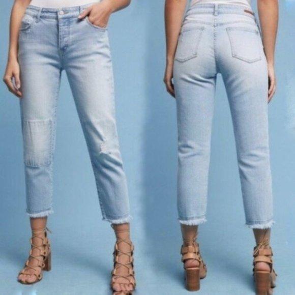 Anthropologie Denim - Anthropologie  Mid-Rise Boyfriend Cropped Jeans 30